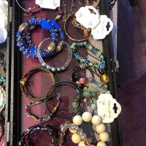 55 piece lot of Jewelry